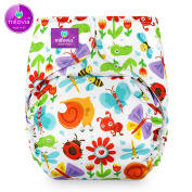 Size Milovia (Prefold) – Happy meadows – Nappy, Nappy Over Trousers, Best Quality Soft Outer