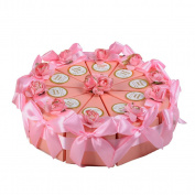 bismarckbeer Creative Candy Box Triangle Cake Gift Box Party Wedding Favour Candy Gift Box