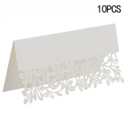 CHIC*MALL Hollow Invitations Reception Decor Name Place Cards