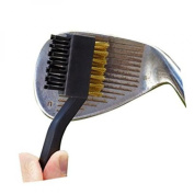 golf club cleaning brush with double sided
