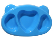 [petinube] Dish with Silicone comparticiones
