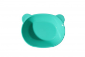 [petinube] Silicone Teddy Bear Plate Mint)