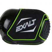 Exalt Paintball Tank Cover - Small 45-50ci - Black / Lime
