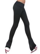 Chloe Noel P19 2Tone Black Waist Skate Leggings Adult Extra Large