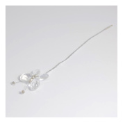 S & W Bridal B1836CL | Butterfly Pick | 18cm | Clear | Pack of 1