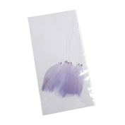S & W Bridal B2156LL | Feather Pick | 7cm | Pack of 6 | Lilac