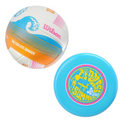 Endless Summer Volleyball Kit, Do you love the outdoors. Then how about a outdoor kit that covers two sports at once. Buy this awesome kit and get an outdoor ball and.., By Wilson