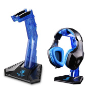 UrChoiceLtd® SADES E-Sports Gaming Headphone Stand , Acrylic Headphone Bracket Stand, Head-mounted Display Rack Headset Hanger Holder For Gamers