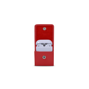 Lucrin - AirPods case - Red - Smooth Leather