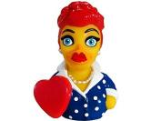 CelebriDucks I love Ducky! Rubber Duck Bath Toy