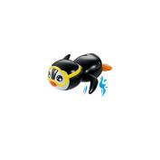 Wind Up Swimming Penguin Bath Toy Loving Shower Byste Gift Clockwork Toy
