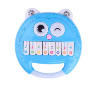 Baby Rattles Plastic Hand Shake Bell Ring Musical Early Educational Toy Byste Panda Face,Pink,Blue,Green