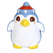 VNEIRW Cute Penguin Jumbo Scented Squishies Slow Rising Baby Squeeze Soft Toys Stress Relief Toys