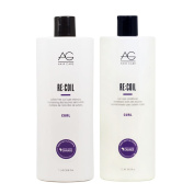 AG Hair Cosmetics AG Curl 1000ml Recoil Shampoo and Conditioner 2-piece Set
