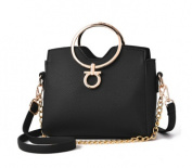 Casual Chain Handle Handbag