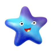 Winkey Exquisite Fun Galaxy Star fish Scented Squishy Charm Slow Rising 13cm Kids Toys