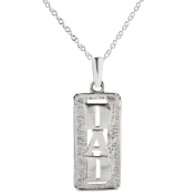 Sterling Silver Father's Day DAD Pendant Necklace, 60cm