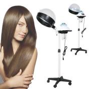 Portable Professional Salon Hair Steamer Hair Dryer Rolling Stand Base Beauty Hood Colour Processor 110V HFON