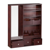 Darby Home Co Apollo Over the Door Jewellery Armoire with Mirror