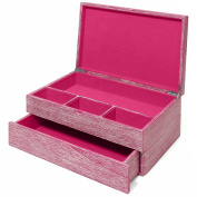 Drift Wood Large Jewellery Box Pink