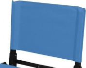 REPLACEMENT BACK for Standard Model Stadium Chair Bleacher Seat, Columbia Blue