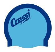 Cressi Bi-Colour Silicone Cap