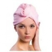Microfiber Drying Cap – Pink