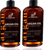 Artnaturals Argan Hair Regrowth Duo 2 - 16 FL OZ / 473 ML
