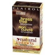 Clairol Natural Instincts Brass Free Haircolor, #6C Light Brown - 1 Ea