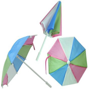 Multi Coloured Doll Sized Umbrella Perfect for 46cm American Girl Dolls & More!