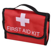 Home Outdoor Oxford Cloth Emergency First Aid Rescue Storage Bag