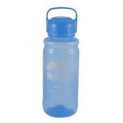 Unique Bargains Portable Handhold Camping Drinking Cup Tea Water Bottle 2500ML Blue