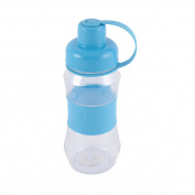 Portable Exercise Camping Drinking Cup Tea Water Bottle 500ML Blue