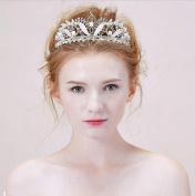 Bride hand crown alloy diamond semi-circular crown wedding accessories hair accessories