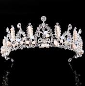 Bridal Crown Silver Rhinestone Princess Crown Wedding Accessories Hair Accessories semicircle
