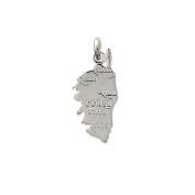 Tata Gisele© Sterling Silver 925/000 Silver Corsica pendant – 25 mm