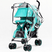 New Universal baby Pram Rain Cover Dust Wind Weather Shields With window Stroller Accessories Pushchairs Buggy Waterproof Rain Cover