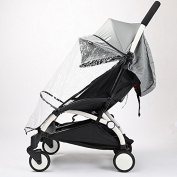 Universal baby pushchair accessory Baby carriages rain cover windproof Wind Covers good quality Dust Shield cheap price baby strolller rain coat car-covers Half style