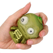 Zombie Squishy Toy, Fat.chot Soft Slow Rising Squeeze Funny Popping Party House Decoration Super Relax Stretchy Monster Relieves Stress Finger Decompression Toys Bunny Gift for Kids Adults