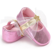 Livecity Baby Infant Star Lace Soft Sole Anti-Slip Crib Toddler Princess Shoes