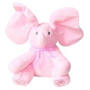 WSSB Elephant Baby Soft Plush Toy Singing Kid Doll