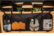 Back Seat Trunk Organiser - 4 Pocket Auto Interior, Keeping Your Car Organised, Trunk Caddy Back Seat Storage Compartments