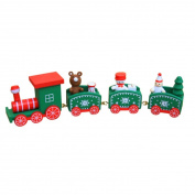 squarex Christmas Decorations Christmas Woods Small Train Children Kindergarten Festive
