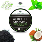 Native99 Teeth Whitening Powder Natural Organic Activated Charcoal Bamboo Toothpaste