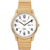 Timex Men's Easy Reader   Stainless Steel Expansion Band Day/Date   Dress Watch