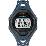 Timex Men's Ironman Sleek 30 Blue/Black Watch, Resin Strap