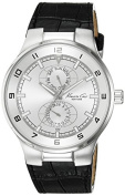 Kenneth Cole New York Leather Strap Silver Dial Men's watch #KC1307