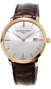 Frederique Constant Slim Line Automatic 18kt Rose Gold Mens Watch FC-306V4S9