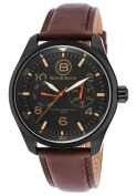 Ben & Sons 10010-BB-01 Marshall Multi-Function Brown Leather