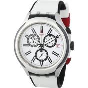 Swatch Black Wheel Mens Watch YYS4005